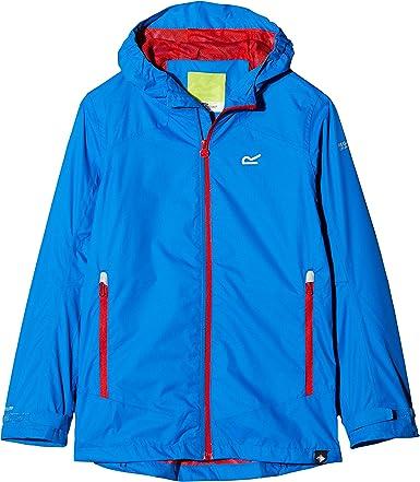 Regatta Boys /& Girls Allcrest II Waterproof Breathable Rain Jacket