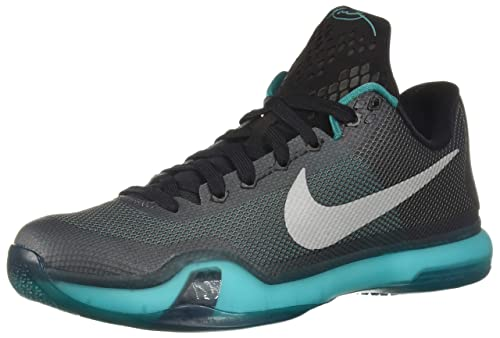 e0fb405f91bf Nike Mens Kobe X Black Black Persian Violet VLT Basketball Shoe 11 Men US   Buy Online at Low Prices in India - Amazon.in