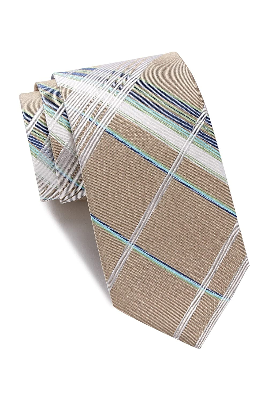 Ben Sherman Norton Plaid Silk Tie