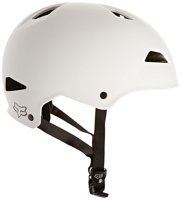 フォックスフライトハードシェルトレイルバイクヘルメット(マットホワイト、ラージ)   B019QW7YZQ