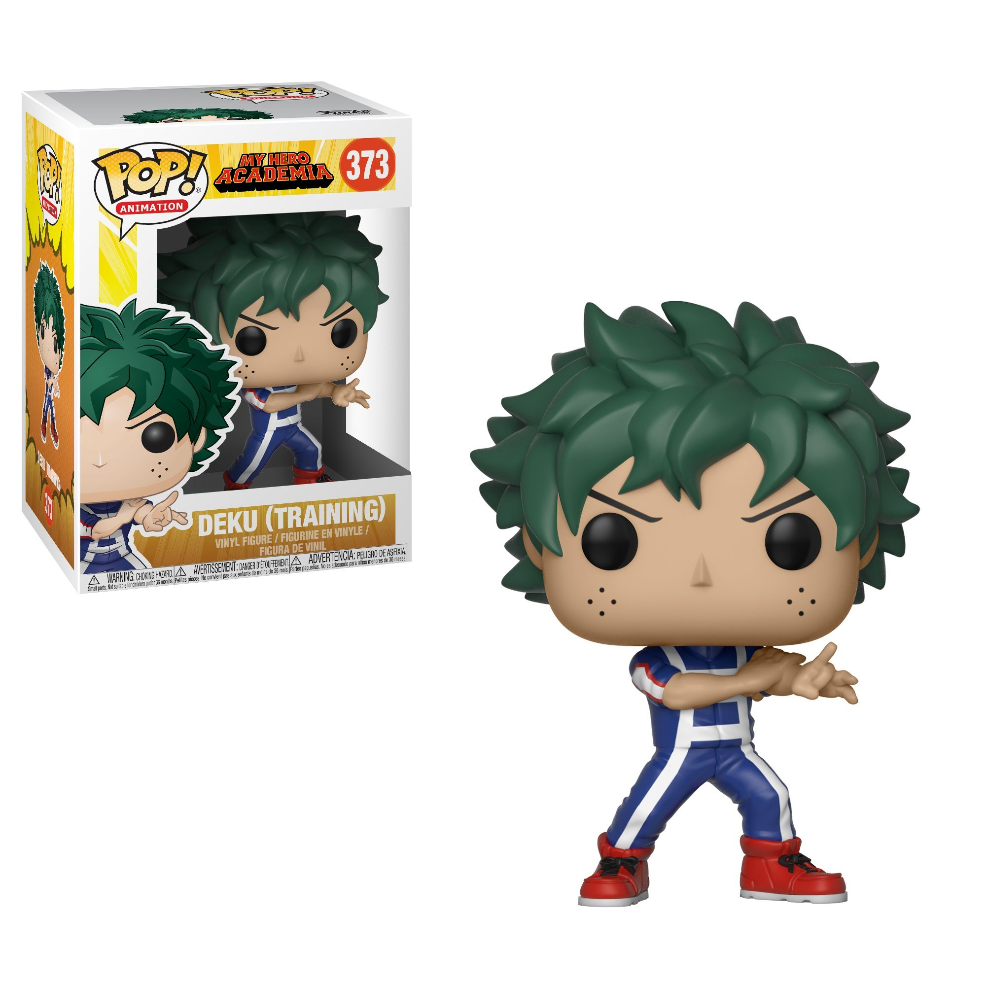Funko Pop Animation: My Hero Academia-Deku Collectible Figure, Multicolor
