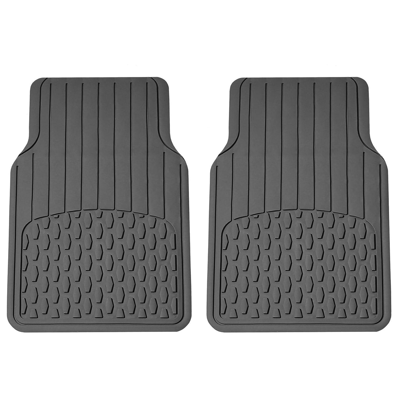 FH Group F16408 Black-F16408 F16408BLACK Universal Fit Rear BumperButler Bumper Guard Protector