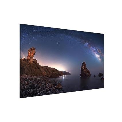 Bilderwelten Pizarra magnética - Sea of Galaxy - Formato ...