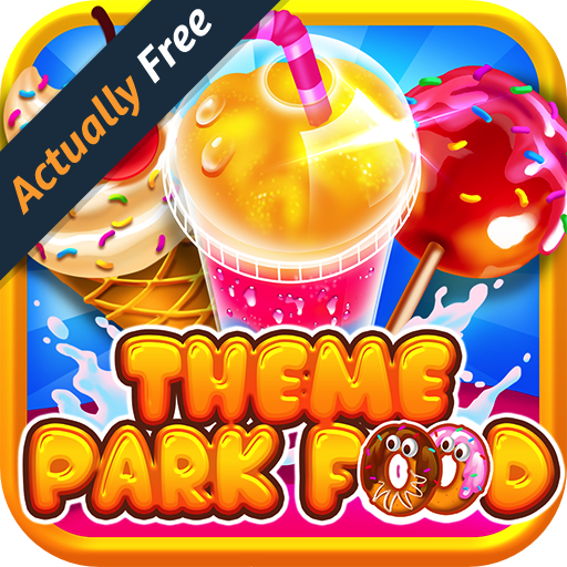Theme Park Fair Food Maker - FREE Kids Game, Make Dessert Foods, Amusement Parks Candy Pizza, Toy Prizes, Bake & Cook Chef for Boys & Girls (Theme Park App compare prices)
