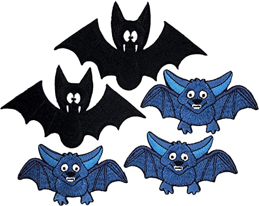 i-Patch – Parches – 0175 – Murciélago – Vampiro – Perro – Animales ...