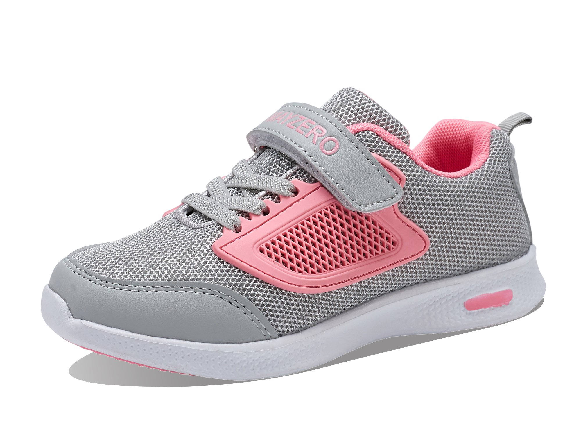 d0790423de2e6 Vivay Children Kids Sneakers Breathable Athletic Running Walking Tennis  Shoes for Girls (2# Pink,3 Little Kid)