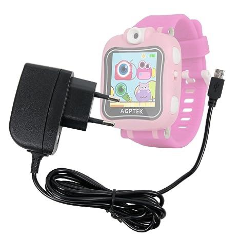 DURAGADGET Cargador (1 Amperio) para AGPtek W6 Reloj Inteligente para niños: Amazon.es: Electrónica