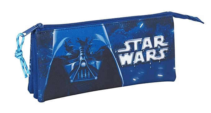 Star Wars SAFTA Estuche Escolar Neon Oficial 220x30x100mm ...