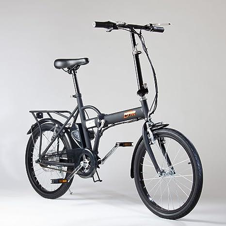 Import For Me Bicicletta Elettrica Ifm Nera Pieghevole Batteria Litio Da 24v44ah