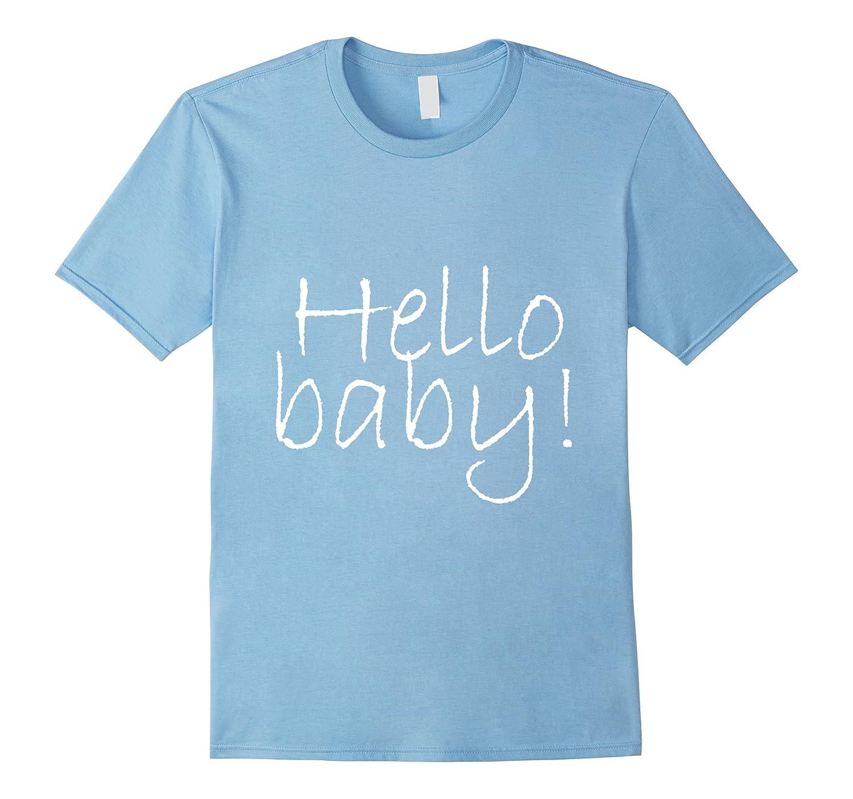 Hello Baby Blue Boy Baby Shower Adoption Gender Reveal