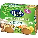 Hero Baby - Babyrecetas Menestra De Cordero 380 gr - Pack de 6 (Total 2280 gr)