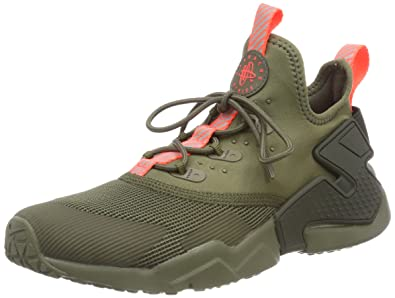 super popular bbb7f f7aeb NIKE Unisex Kids  Huarache Drift (GS) Low-Top Sneakers, Green (