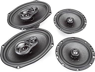 "Fits 1988-1994 Chevrolet CK Pickup Front Dash 4/"" x 6/"" RPX Speakers by Skar Audio"