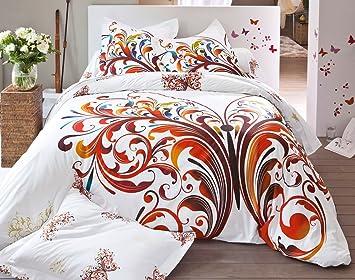 Becquet   Drap housse papillons   160x200: Amazon.fr: Cuisine & Maison