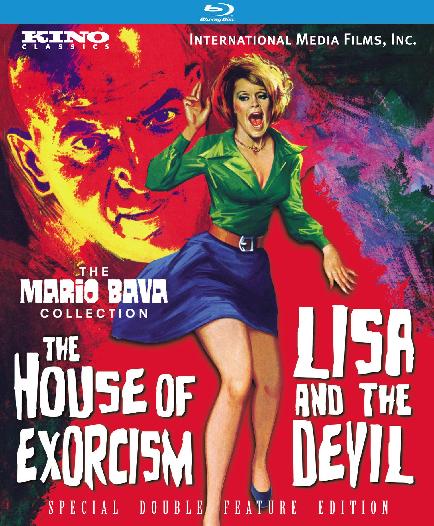 Blu-ray : The House of Exorcism / Lisa and the Devil (Remastered, Mono Sound)