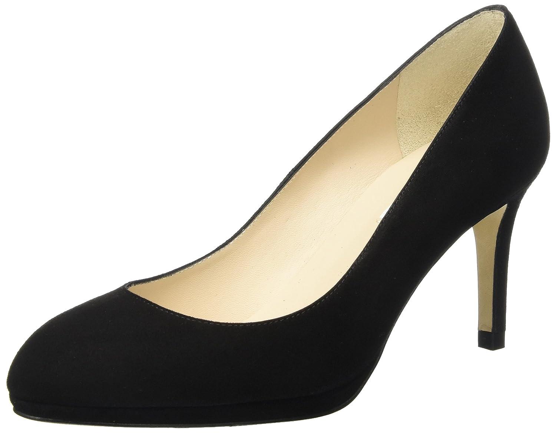 L.K. Bennett New Sybila, Zapatos de Tacón para Mujer 41 EU|Negro (Black-black)