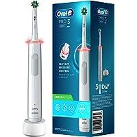 Oral-B PRO 3 3000 CrossAction Elektrische tandenborstel/elektrische tandenborstel, met 3 poetsmodi en visuele 360…