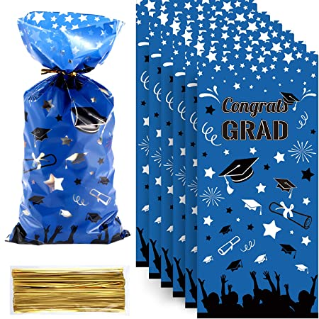 Chuangdi Graduation Grad Cello Bag Party Bag Candy Cellophane Bag