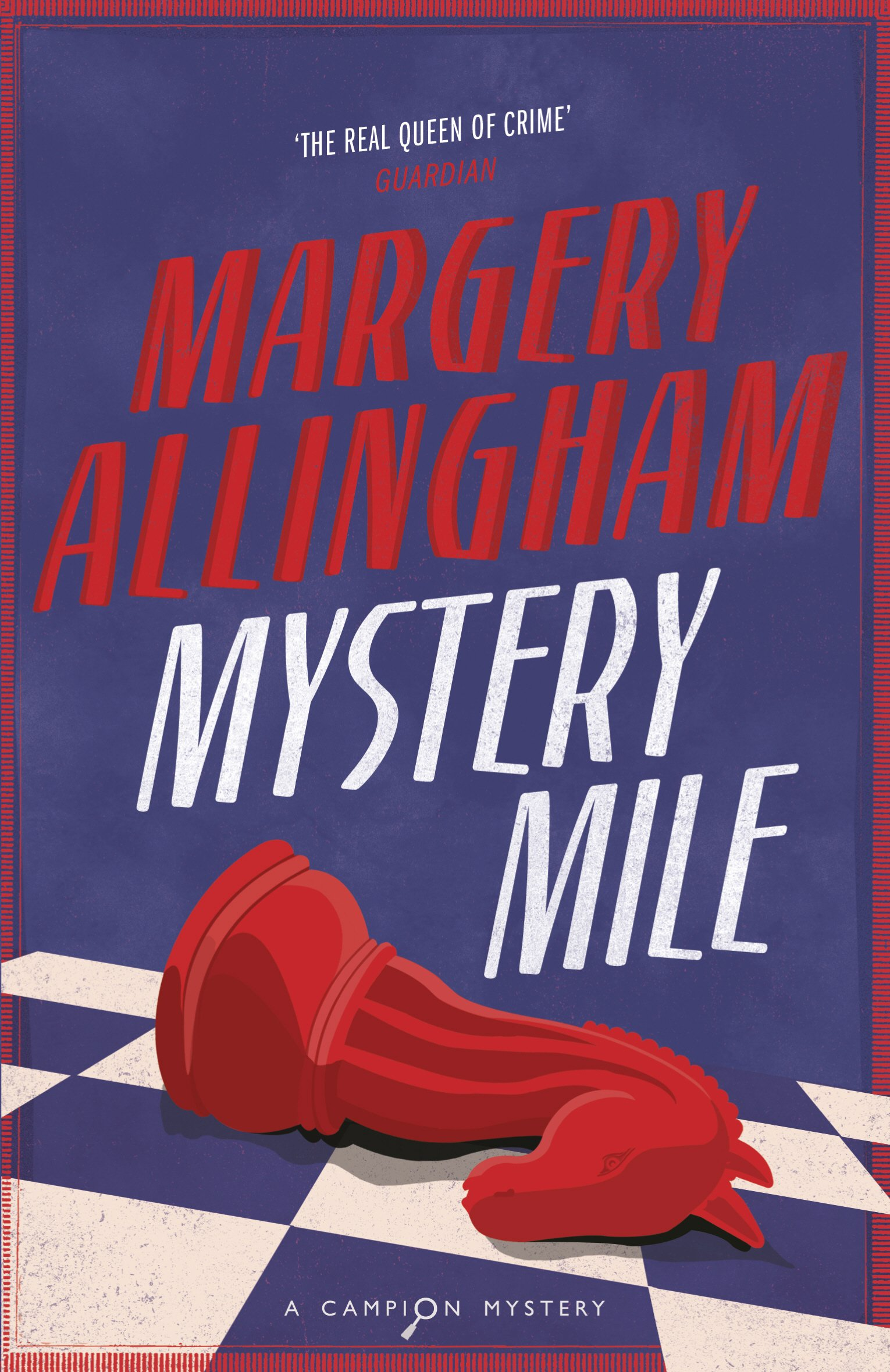 Amazon.com: Mystery Mile: A Campion Mystery (9780099474692): Allingham,  Margery: Books