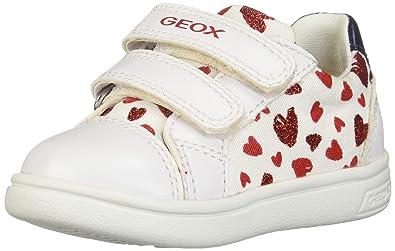 Geox B Kilwi E, Scarpe da Ginnastica Basse Bimba, Beige, 24