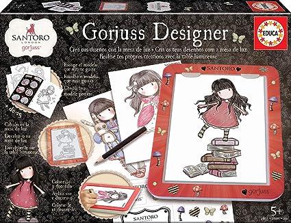 Educa (18238) Mesa De Diseño de luz Gorjuss Designer, colorea y decora, incluye adhesivos y libro con modelos, a partir de 5 años , color/modelo surtido: Amazon.es: Juguetes y juegos