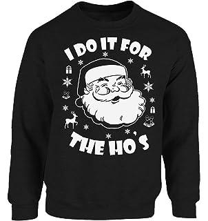 Vizor I Do It The Hos Sweatshirt I Do It The Hos Sweater Ugly Christmas Sweatshirt