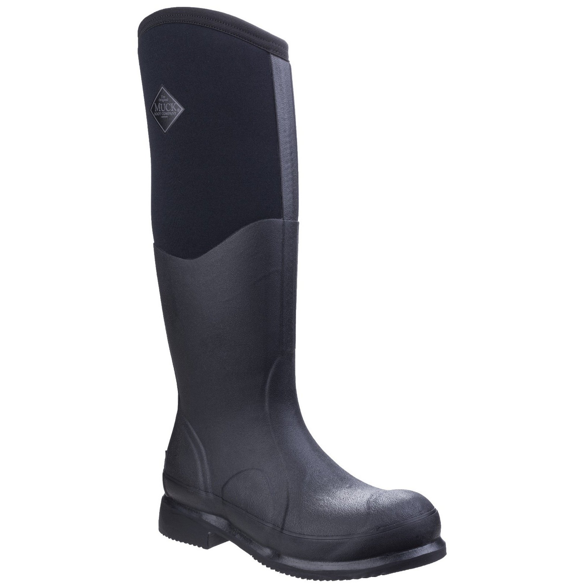 Muck Boots Unisex Colt Ryder All Conditions Riding Boots (10 M US/11 W US) (Black/Black)