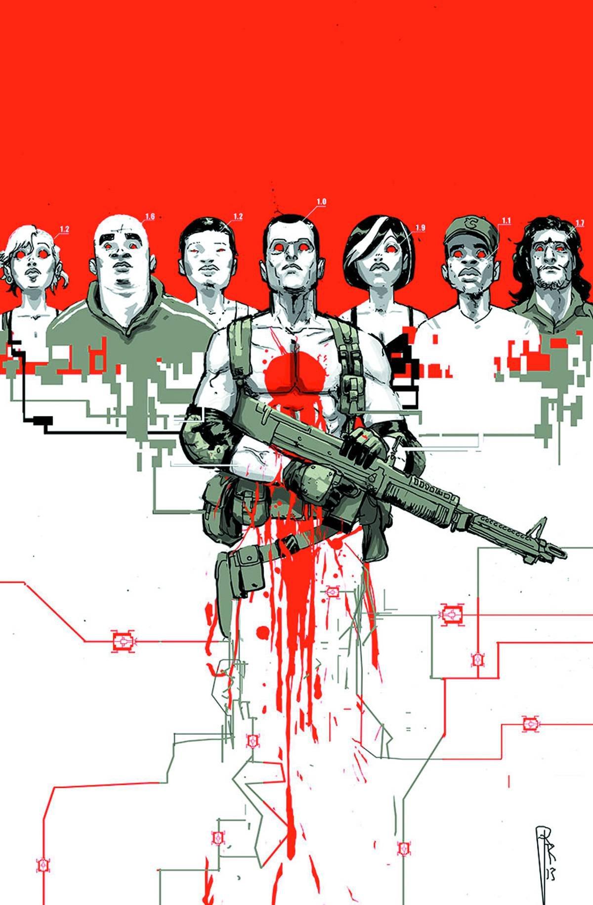 Bloodshot and Hard Corps #17 ebook