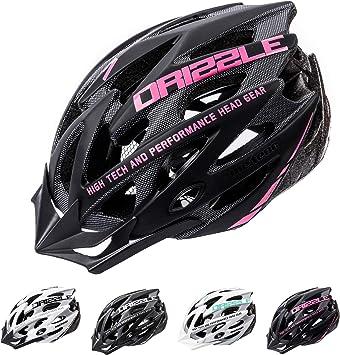 meteor Casco Bicicleta Helmet Bici Ciclismo para Jóvenes y Adulto Bicicleta Patineta Skate Patines Monopatines - Bici Accesorios - El diseño Ligero - Muchos Patrones - Drizzle: Amazon.es: Deportes y aire libre