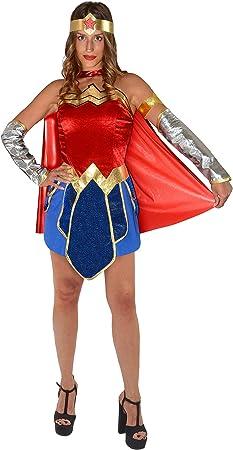 Ciao- Wonder Woman Costume Donna Originale DC Comics (Taglia S ...