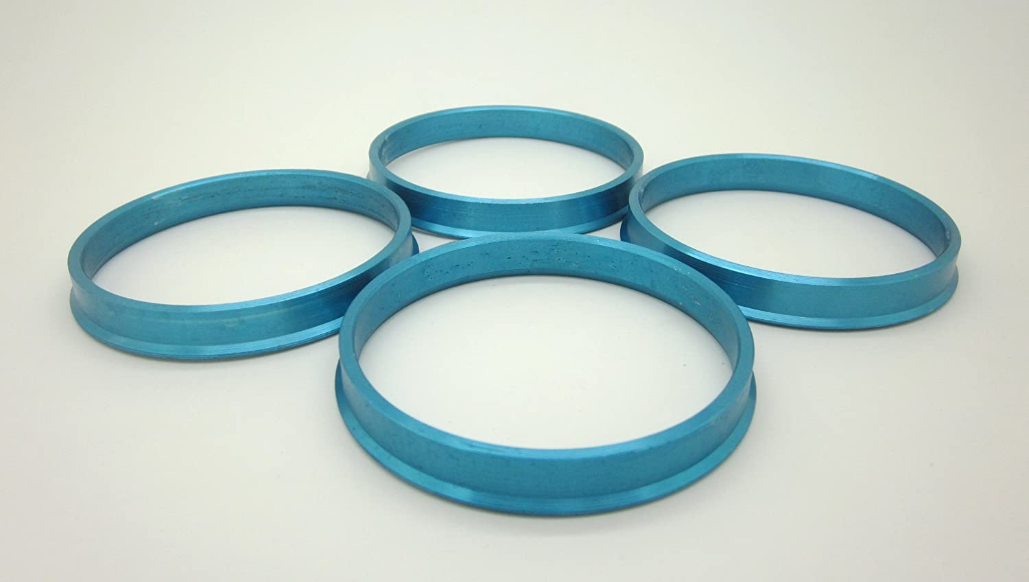 Pack of 4 Hubrings AccuWheel Automotive 73.00mm OD to 57.10mm ID AccuWheel ACHR73-5710M Aluminum Wheel Hub Centric Rings