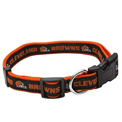 Amazon.com   Pets First NFL Cleveland Browns Pet Collar 0e8f6f643