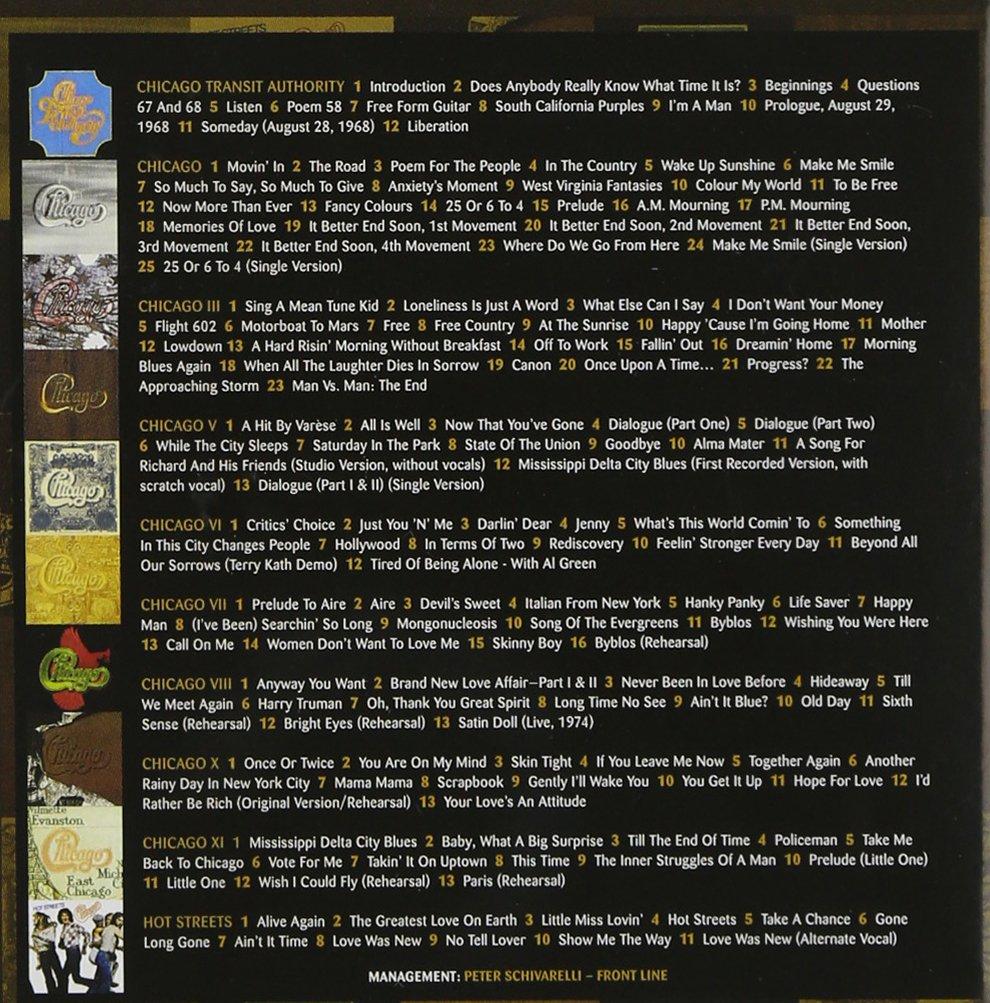 amazon chicago studio albums 1969 78 chicago 輸入盤 音楽