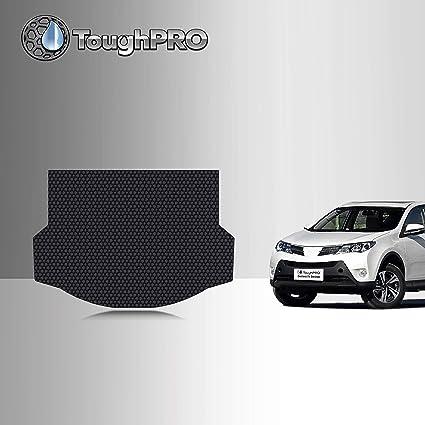 Cqlights Rav4 Cargo Liner for 2019 2020 Toyota Rav4 Trunk Liner Tray Heavy Duty Rubber Rear Cargo Area Mat Waterproof Protector Floor Mat Black