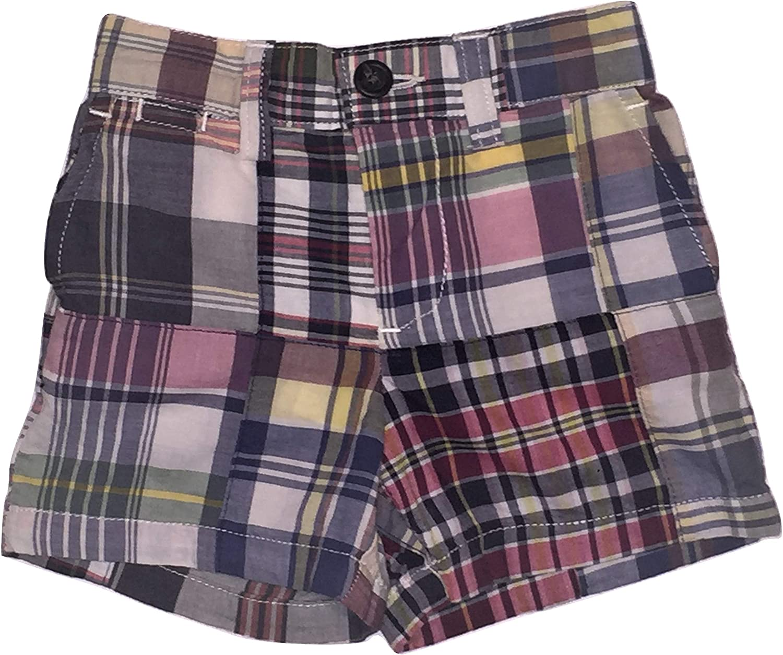 Polo Ralph Lauren Infant Baby Boys Madras Plaid Shorts