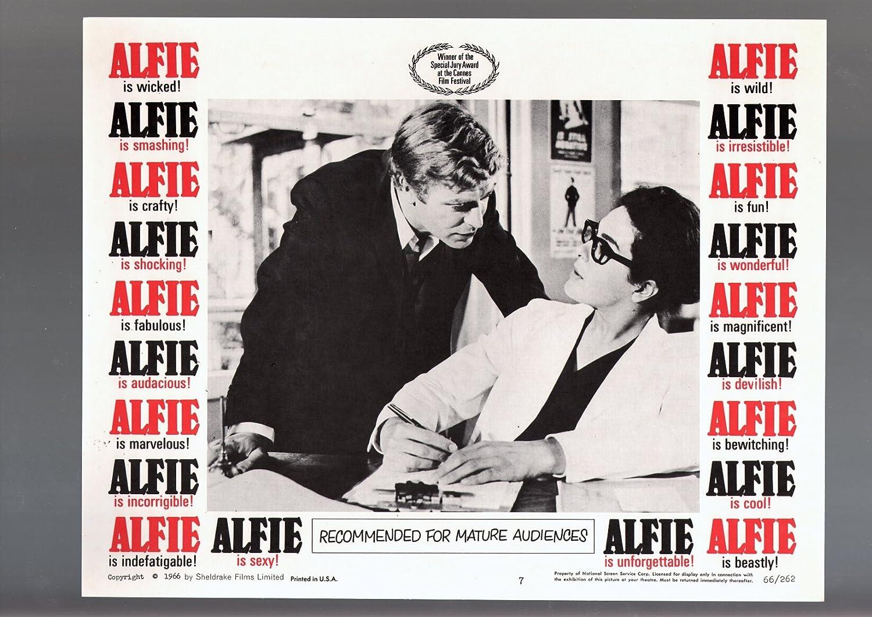 Alfie Michael Caine vintage movie poster