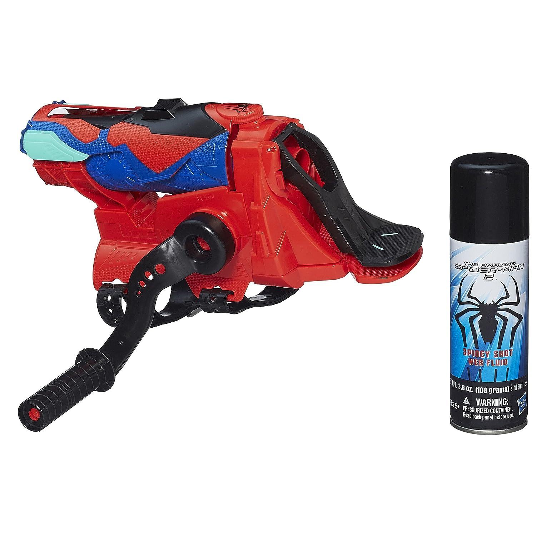 Amazing Spiderman 2 Spiral Blast Web Shooter Water Blaster Toy Shooting Fun