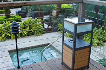 SOLAR POWERED OUTDOOR SPEAKER , BLUETOOTH PATIO SPEAKER AND ITS A TABLE    PORTICO SOLAR SOUND