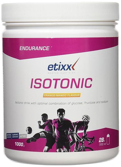 Etixx Isotonic Orange/Mango, Sabor a Naranja y Mango - 1000 gr