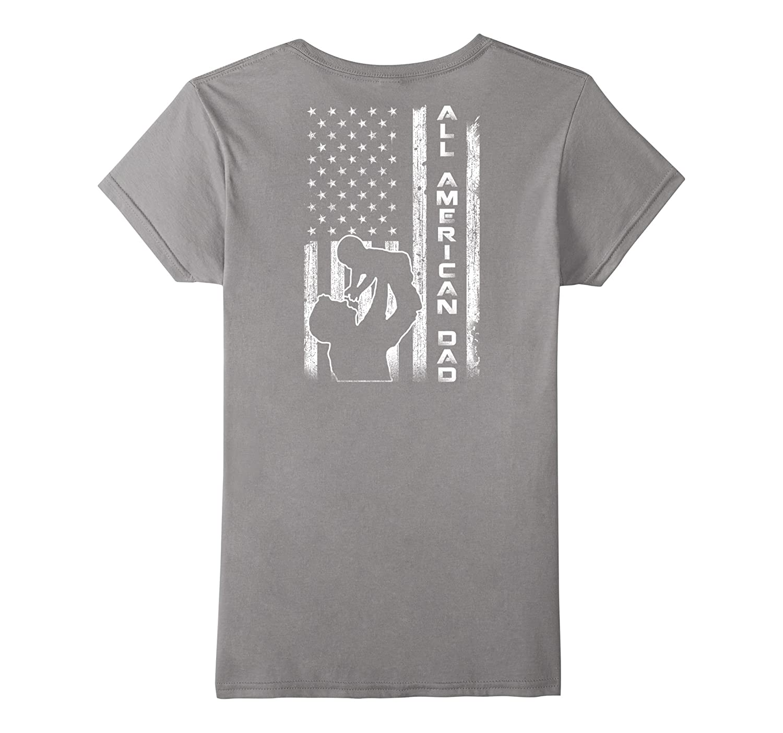 All American Dad Flag Shirt