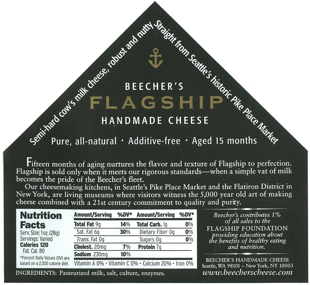Beecher's, Flagship Cheese (2 x 1 pound)