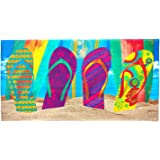 Kaufman Sales Flip-Flop Beach Towel