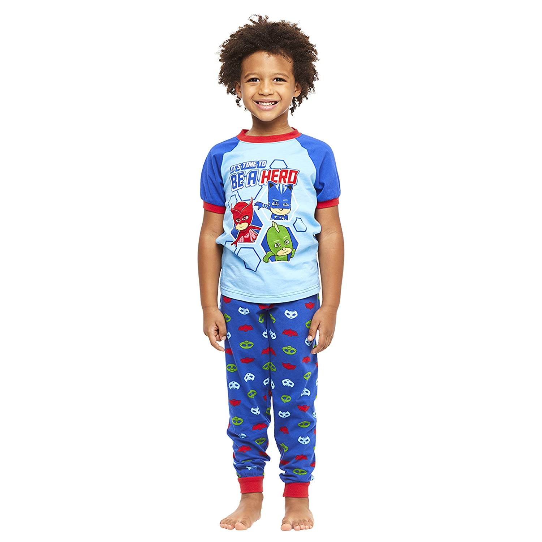 Jellifish Kids Toddler 2-Piece Cotton Pajamas Set, Top & Jogger Pants