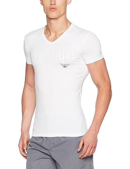 749fcc58ec1af Emporio Armani Underwear Haut De Pyjama Homme  Amazon.fr  Vêtements et  accessoires