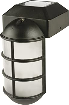 Sterno Home Paradise Solar Cast LED Post Cap Light