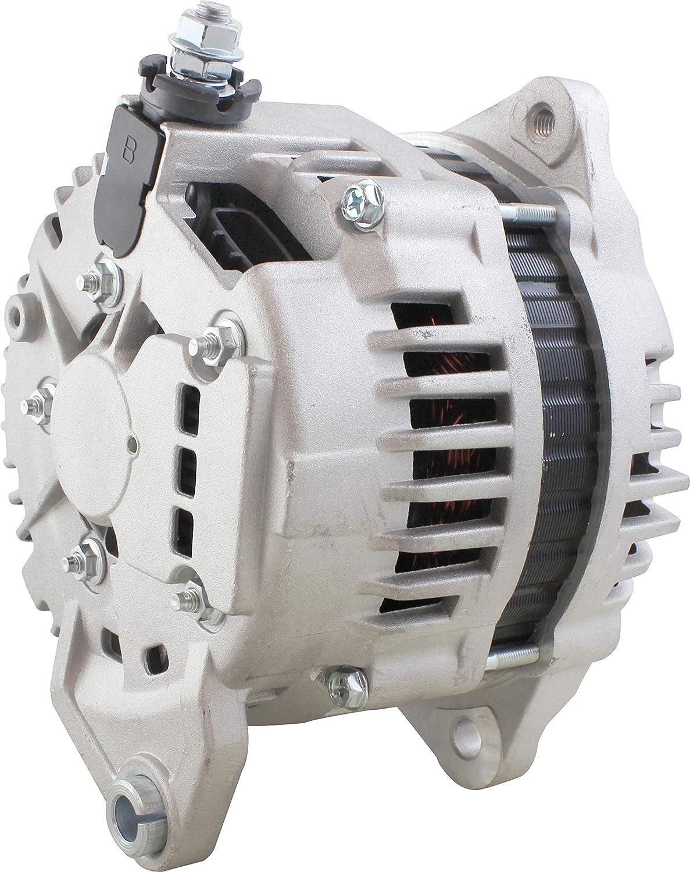 New Alternator for Nissan Maxima 12 Volt 110 Amp 3.0L 181cid 2000 3.5L 2000 2001 2002 2003 Infiniti 130 3.0L 2000 135 3.5 2002 210-3152 AL2389X LR1110-710C LR1110-710F LR1110-710FR 23100-2Y900