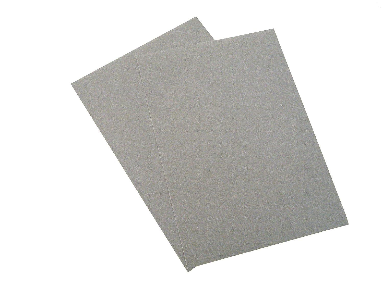 A3 Sticky Back Self Adhesive Sheet Velvet Velour Craft DC FIX Vinyl Sticker Size: A3 (Grey) Konrad Hornschuch AG