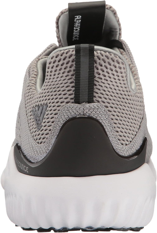 adidas Performance Men's Alphabounce M Running Shoe Medium Grey Heather/White/Black
