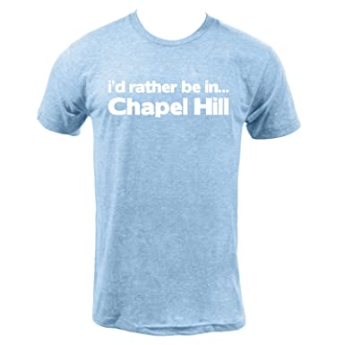 558b35f80 UGP Campus Apparel I'd Rather Be in Chapel Hill Tee American Apparel Mens T