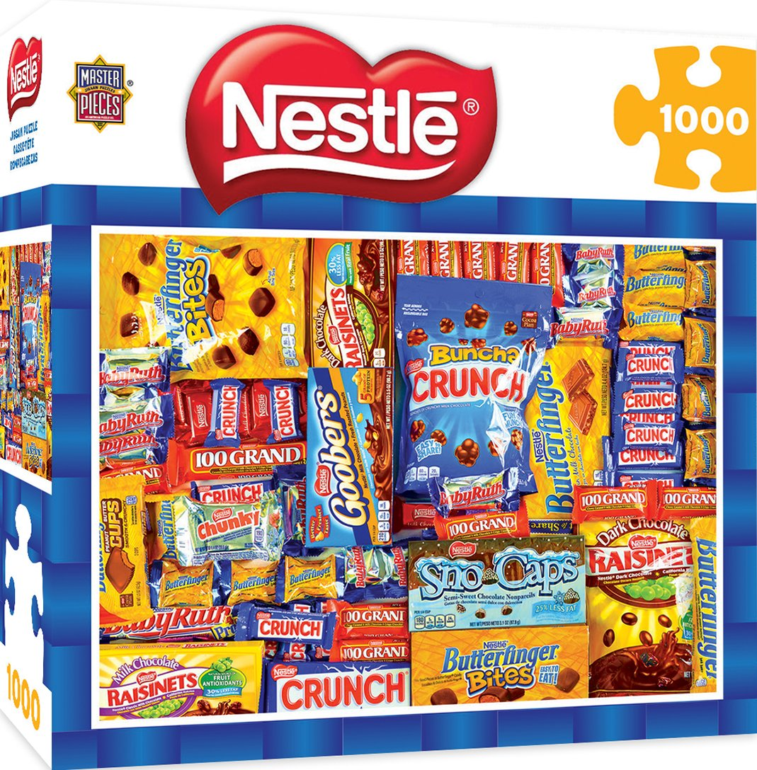 Nestle 71619  Masterpieces Candy Puzzle